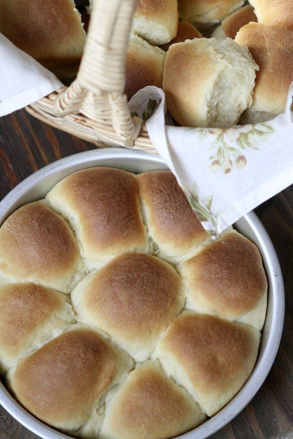 Yeast Rolls Recipe - RecipeGirl