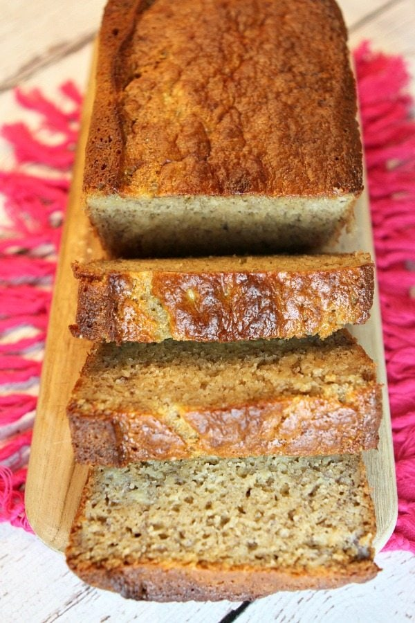 Greek Yogurt Banana Bread recipe - from RecipeGirl.com