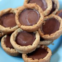 peanut butter cup cookie cupcakes