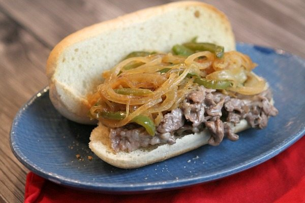 Shaved steak sandwich recipe