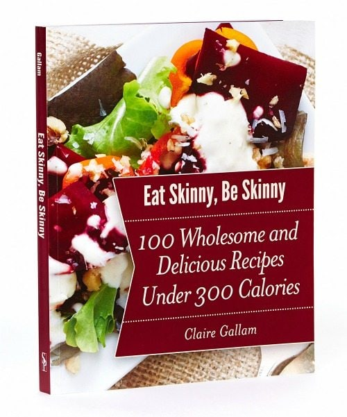 eat skinny be skinny cookbook cover