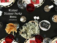 Winter Dinner Party Menu
