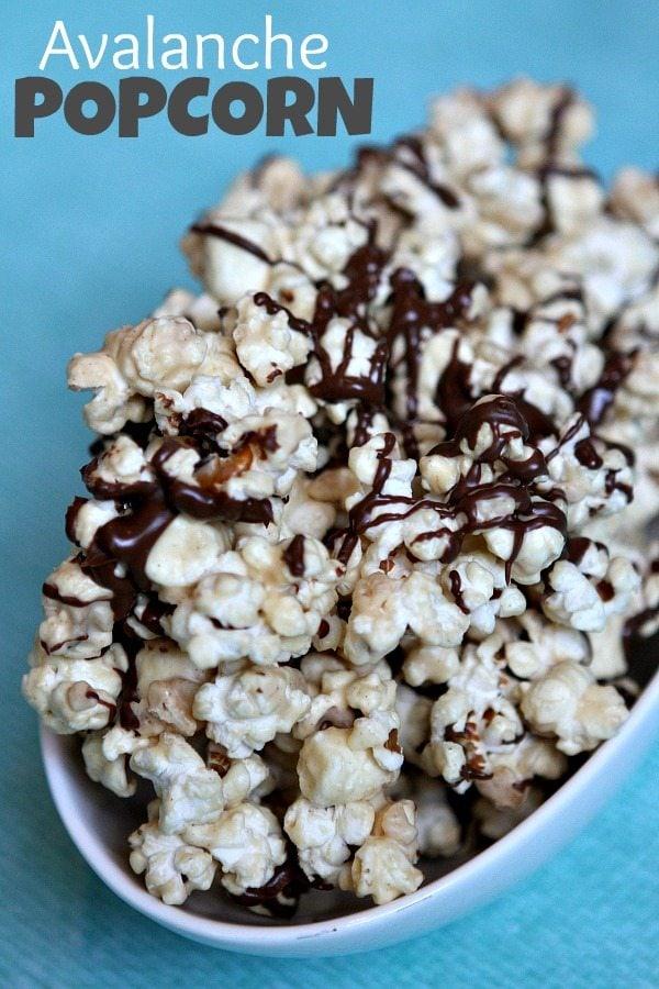 Avalanche Popcorn Recipe - RecipeBoy.com