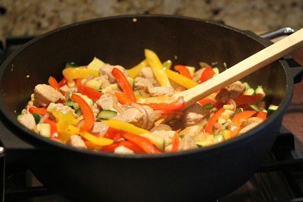 Southwestern Pork Stir Fry Prep 2