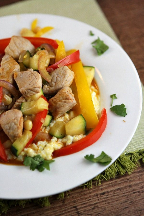 Southwestern Pork Stir Fry Recipe