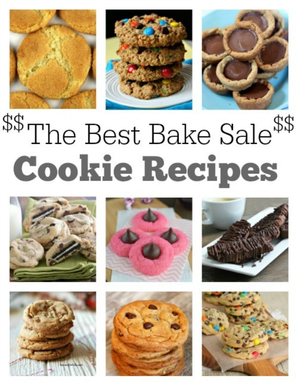 Best Bake Sale Cookie Recipes