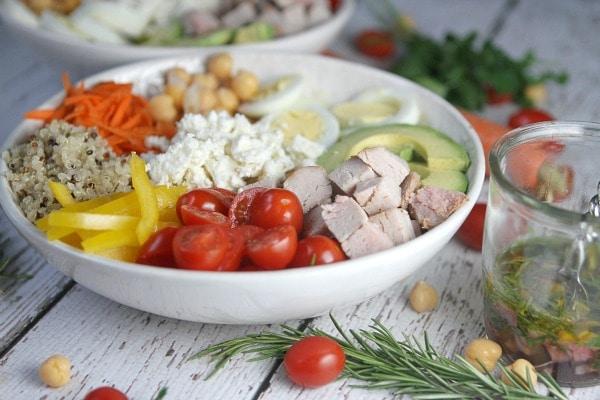 Roasted Pork Protein Bowl