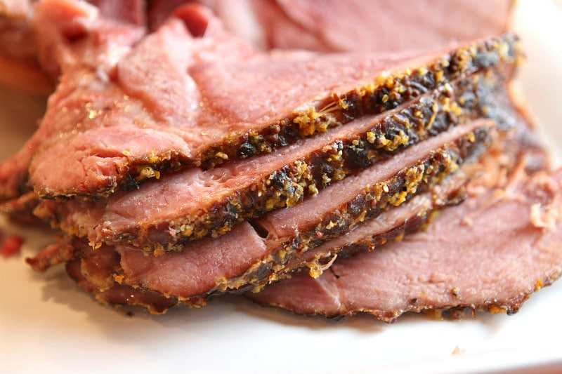 Sliced Slow Cooker Cider Ham