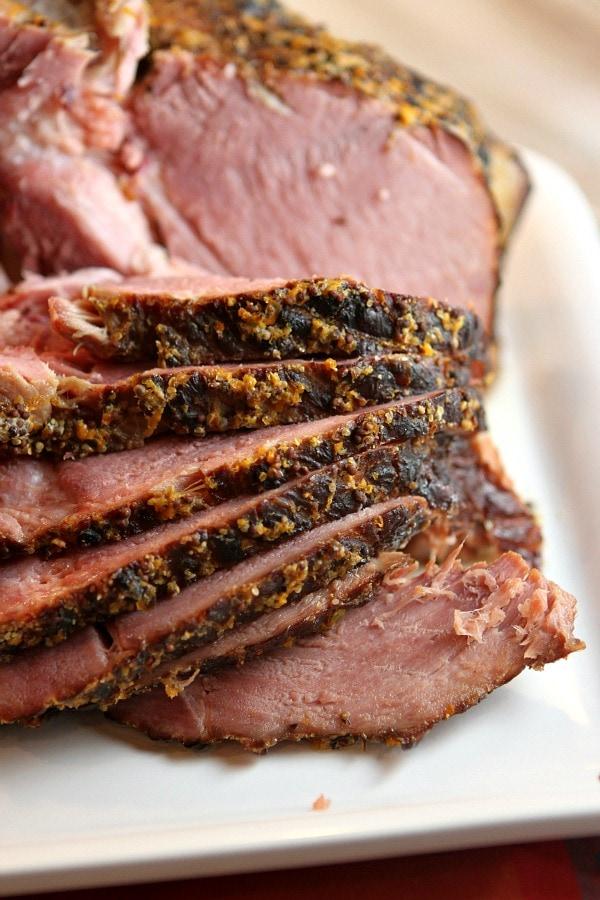 Slow Cooker Ham Recipe