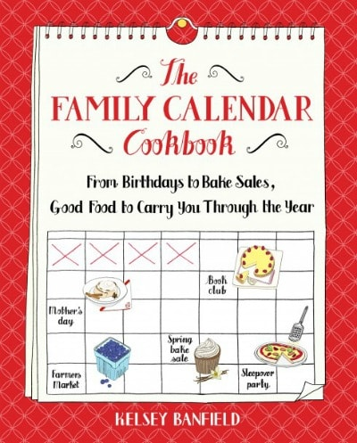 family calendar cookbook