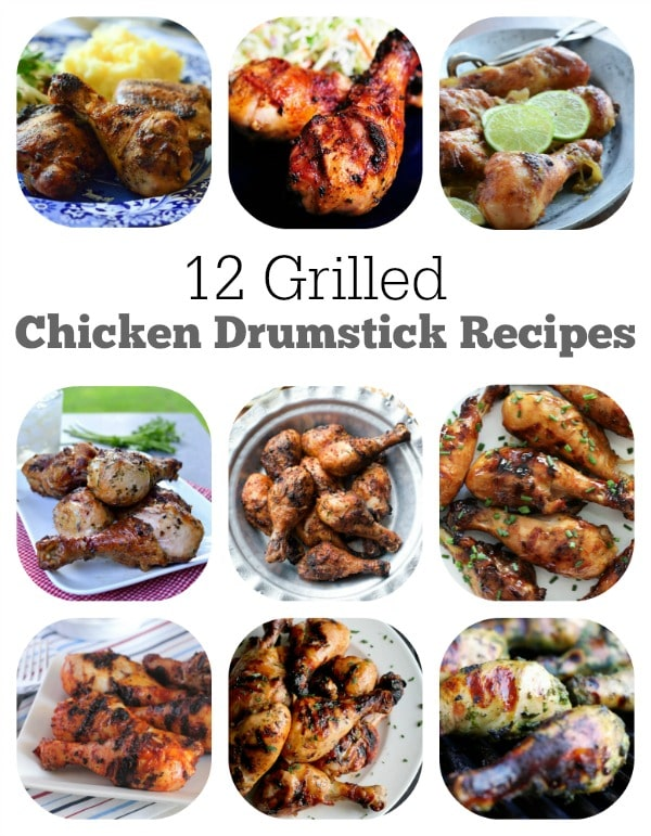 12 Grilled Chicken Drumstick Recipes