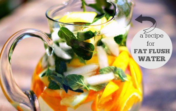 Fat Flush Water