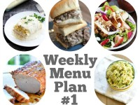 Weekly Menu Plan #1 Square