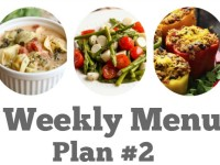 Weekly Menu Plan #2 reduced