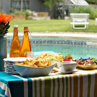 Pool Party Menu | RecipeGirl.com