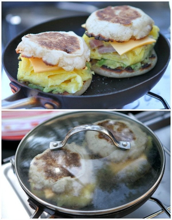 Camping Breakfast Sandwiches 5