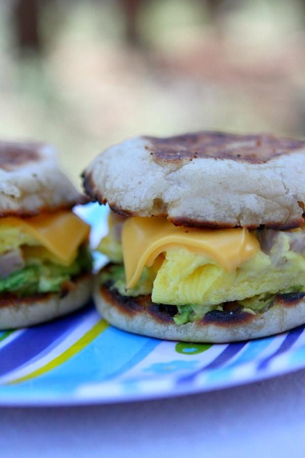 Camping Breakfast Sandwiches Recipe