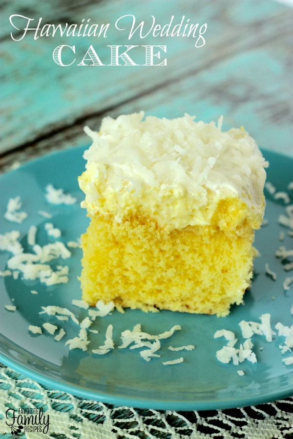 Hawaiian Wedding Cake - FavFamilyRecipes.com