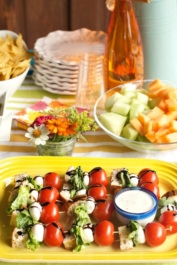 Food for a Pool Party
