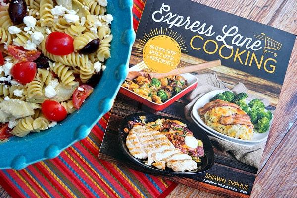 Greek Pasta Salad - Express Lane Cooking