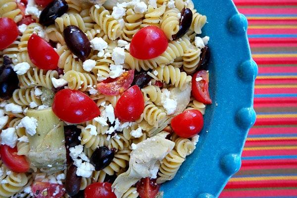 Greek Pasta Salad Recipe