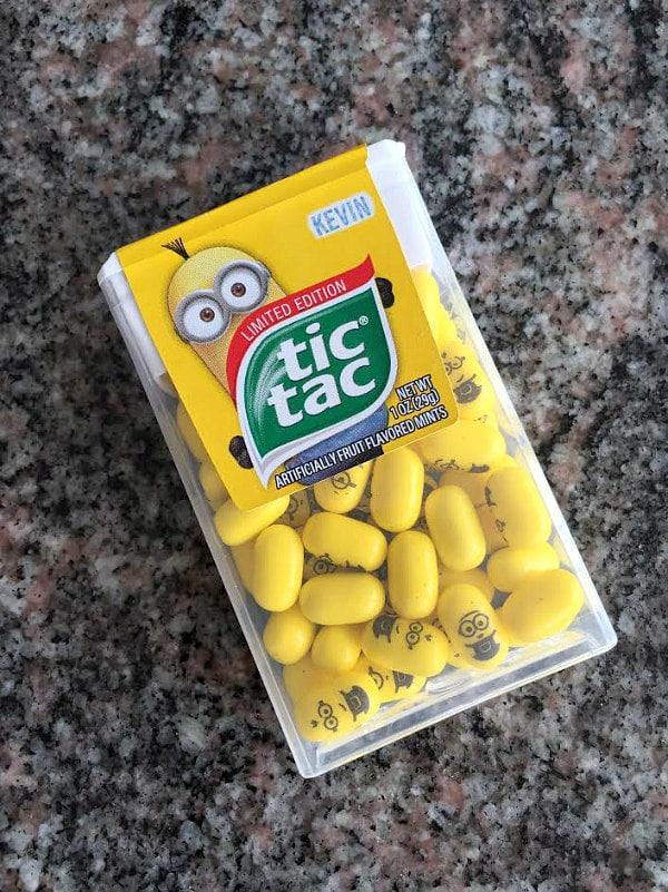Minions Tic Tacs