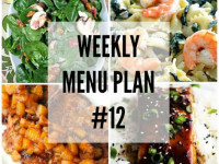 weekly menu plan 12