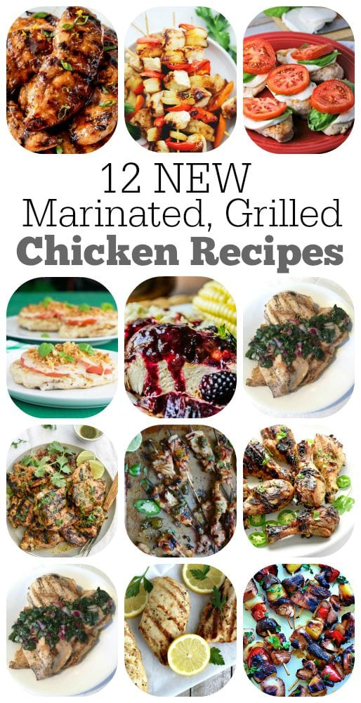 12-Marinated-Grilled-Chicken-Recipes