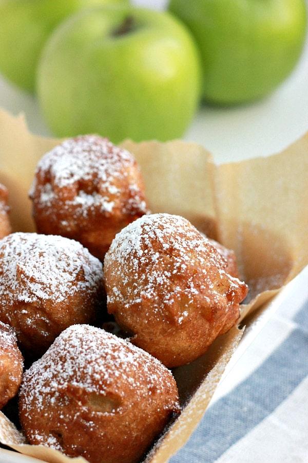 Apple Fritters Recipe - RecipeGirl.com