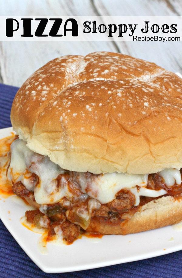 Pizza Sloppy Joes Recipe - RecipeBoy.com