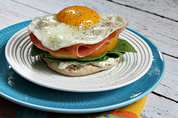 Protein Packed Breakfast Sandwiches 2