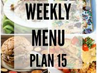 Weekly Menu 15