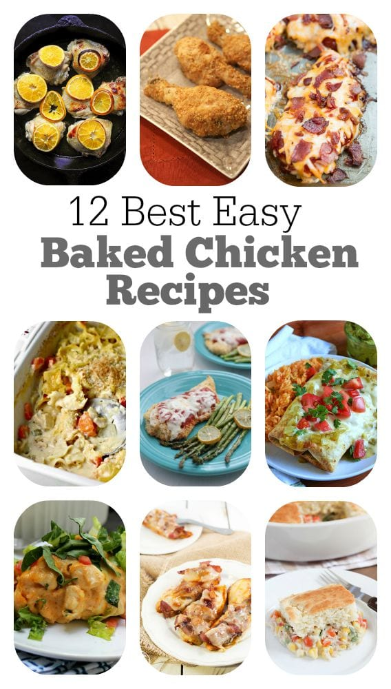 12-Best-Easy-Baked-Chicken-Recipes