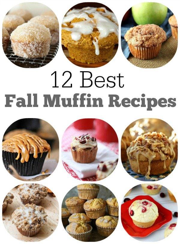 12-Best-Fall-Muffin-Recipes