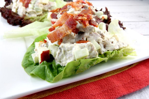 Curry Pork Lettuce Wraps with Bacon