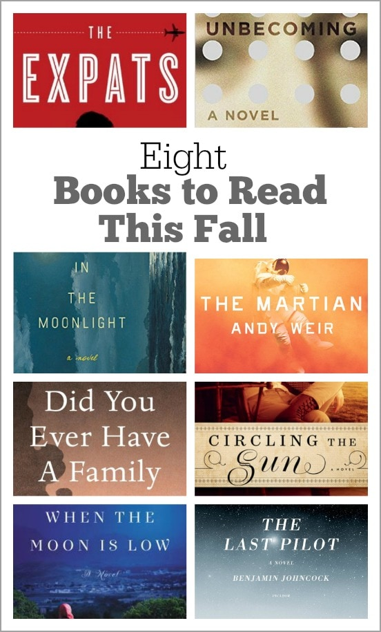 Eight Books to Read this Fall