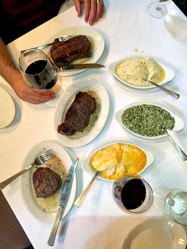 Ruths Chris Steak and Sides