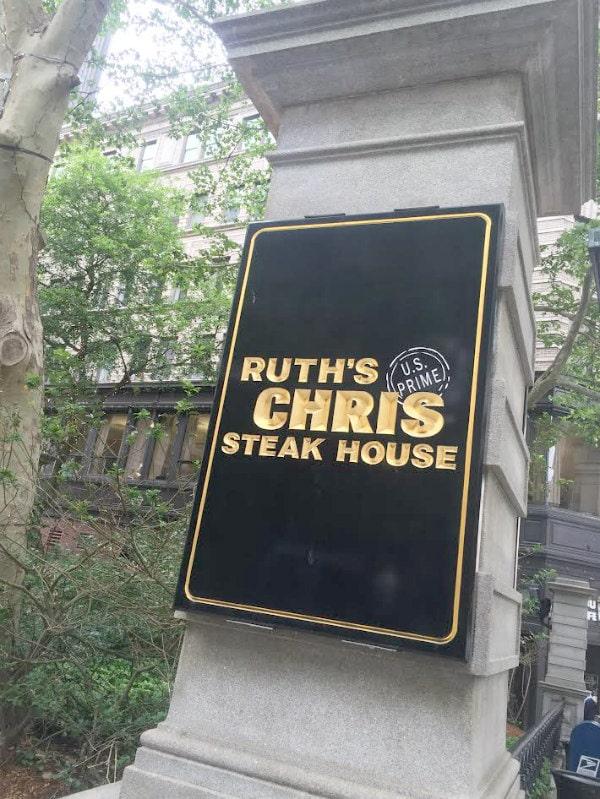Ruths Chris Steakhouse Boston