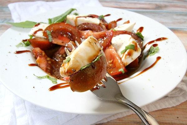 Fresh Mozzarella and Kumato Tomato Salad