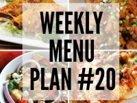 Weekly Menu Plan #20 reduced