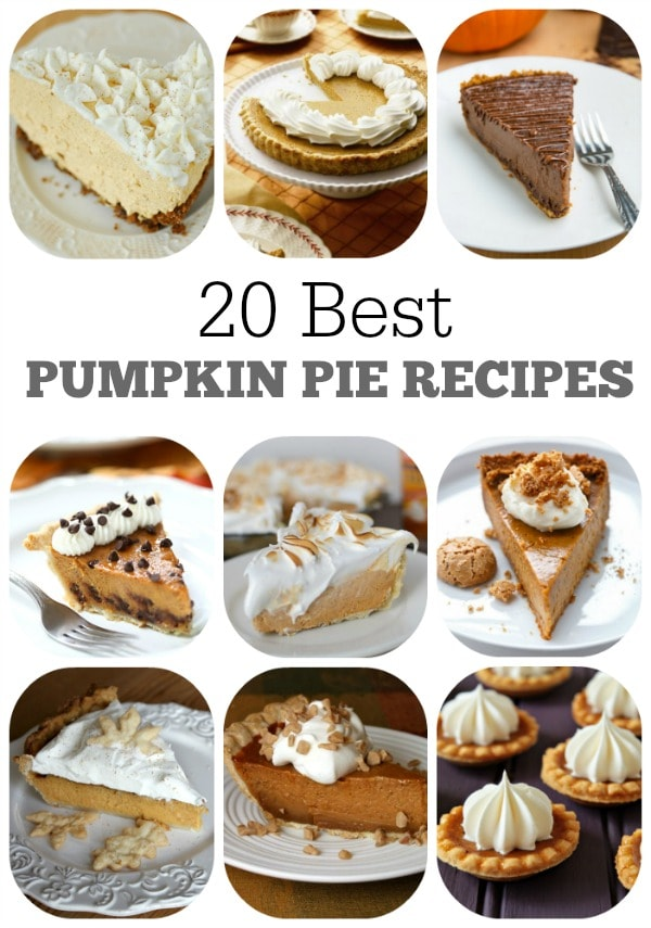 20-Best-Pumpkin-Pie-Recipes