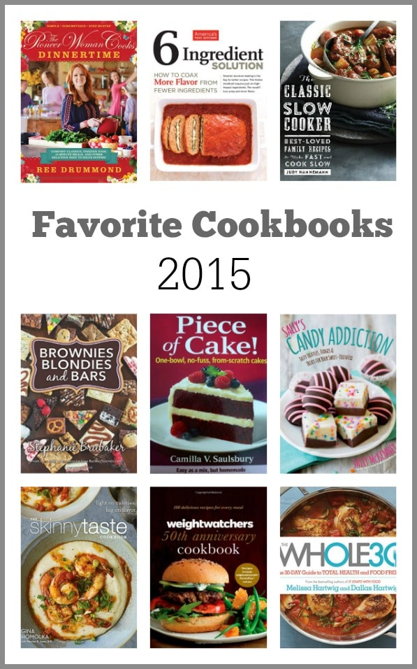 Favorite Cookbooks 2015