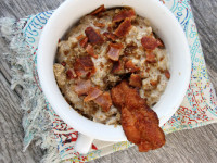 Almond Butter Oatmeal