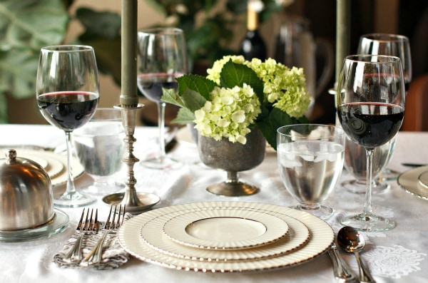Downton Abbey Dinner Party Menu