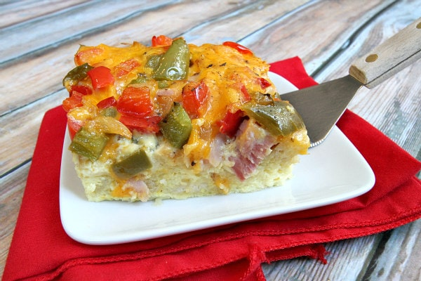 Holiday Breakfast Casserole Recipe - RecipeGirl.com