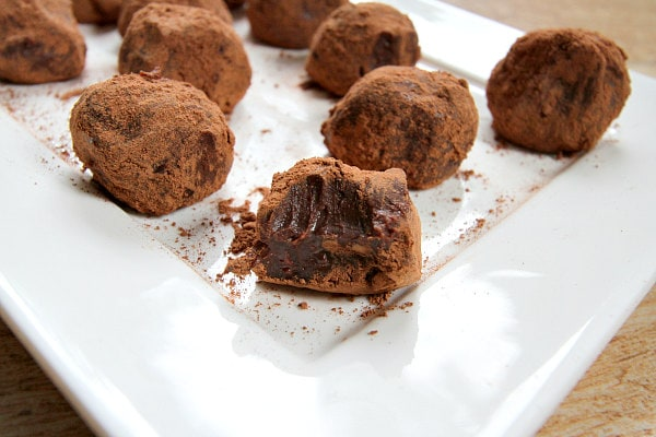 Red Wine Truffles Recipe - RecipeGirl.com
