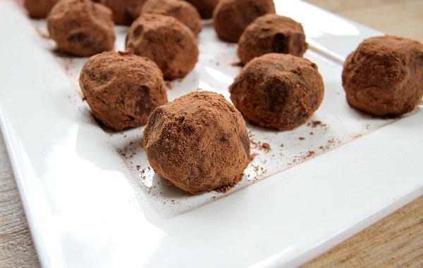 Red Wine Truffles