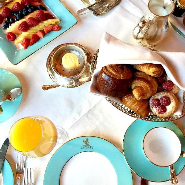 Ritz London Breakfast