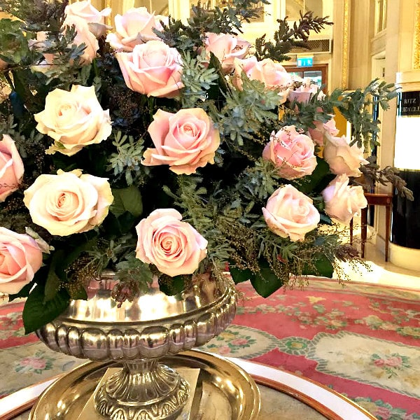 Ritz London Lobby Flowers