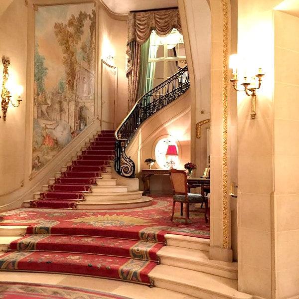 Ritz London Lobby Stairway